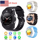 Bluetooth Smartwatch Touch Screen Wrist Watch with Camera fo
