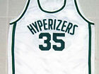 "EVIN DURANT ""VELVET HOOP"" HYPERIZERS JERSEY WHITE SEWN NEW - ANY SIZE"