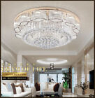 LED K9 Crystal Chandelier Luxury Pendant Lamp Ceiling Light Lighting Fixtures