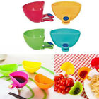 Creative Clips Dipping Sauce Holder Food Ketchup Plate BBQ S
