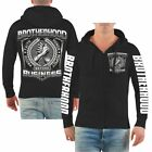 Kapuzen Sweatjacke Hooded Zip La Familia brotherhood business biker Criminal