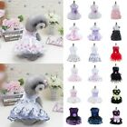 Small Pet Dog Lace Skirt Princess Tutu Dress Puppy Cat Summer Clothes Costume US