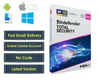 Bitdefender Total Security 2020 - 5 PC (Central Account - eDelivery) - No Code