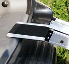 """7ft x 6"""" Channel Folding Telescopic Ramps Long Landing Lip Reaches Over Bumpers"""
