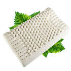 New Massaging Natural Thailand Ventilated Latex Foam Pillow Two Sizes