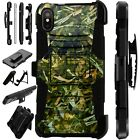 Lux-Guard For iPhone 6/7/8 PLUS/X/XR/XS Max Phone Case Cover CAMO FOLIAGE GREEN