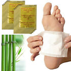 10 50x Detox Foot Pads Patch Detoxify Toxins Adhesive Keep Fit Health Care A3wT