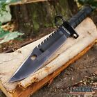 """12.75"""" M9 BAYONET SURVIVAL Knife + Scabbard w/ Wire Cutter & Sharpening Stone"""