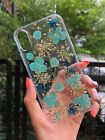 Real Dry Flower Case for iPhone Xs, iPhone X Pressed Dried Flowers Pretty Floral