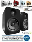 Kanto YU6 200w Active Bluetooth Bookshelf Studio Speakers or Stands