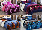 3 Piece Reversible Warm Flannel Sherpa Borrego Blanket King Size 6lbs image
