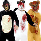 Deluxe Animal Panda Halloween Mens Fancy Dress Spooky Horror Zoo Adults Costume