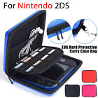 Hard EVA Storage Zip Case Protective Shell with Carry Handle for Nintendo 2DS