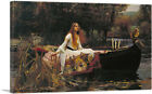 ARTCANVAS The Lady of Shalott 1888 Canvas Art Print John William Waterhouse
