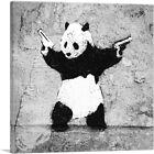 ARTCANVAS Panda with Guns Canvas Art Print by Banksy