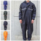 Motorcycle Rain Suit Raincoat Overalls Waterproof Mens Work Jumpsuit Outdoor Lot $34.88 USD on eBay