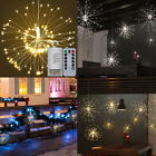 120 LED Fuochi d'artificio Starburst Fata Stringa Luci Dimmable con telecomando
