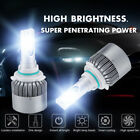 2x 120w C6 9006 Hb4 10800lm Cob Led Car Headlight Conversion 6000k White Bulb Uk