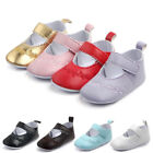 Newborn Baby Girls Crib Pram Shoes Kids Soft Sole Anti Slip Walkers Sneaker KI