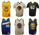 New Steph Curry 30 Warriors YOUTH S M L XL Replica or Swingman Adidas Jersey