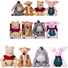 Posh Paws Christopher Robin Coll.- Pooh Piglet Eeyore Tigger 7 10 20 in - Choose