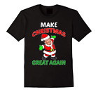 FUNNY MAKE CHRISTMAS GREAT AGAIN T-SHIRT Donald Trump 2016