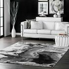 Kyпить nuLOOM Contemporary Modern Abstract Marble Area Rug in Grey, Off White на еВаy.соm