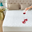 Waterproof Mattress Cover Bed Topper Bug Dust Mite Pad Protector Bedspread Sheet image