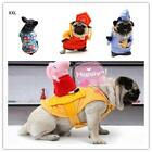 Pet Dog Riding Habit Piggy Knight Funny Clothes Vest Cat Bullfighting Clothes
