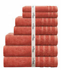 High Quality Luxury 7 Piece Bath Towel Set perfect for Air BnB, Hotels, Guests