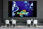 Michael Jordan Space Jam Wall Art Decor Design Canvas Print Poster