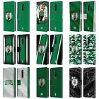 OFFICIAL NBA BOSTON CELTICS LEATHER BOOK CASE FOR BLACKBERRY ONEPLUS