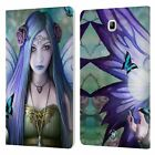 OFFICIAL ANNE STOKES FAIRIES LEATHER BOOK WALLET CASE FOR SAMSUNG GALAXY TABLETS