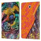 DEAN RUSSO WILDLIFE 3 LEATHER BOOK WALLET CASE COVER FOR SAMSUNG GALAXY TABLETS