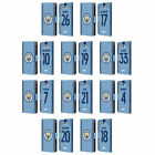 MAN CITY FC 2018/19 PLAYERS HOME KIT GROUP 1 LEATHER BOOK CASE FOR SONY PHONES 2