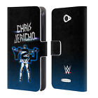 OFFICIAL WWE CHRIS JERICHO LEATHER BOOK WALLET CASE FOR SONY PHONES 2