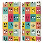 OFFICIAL emoji® YELLOWS AND POOS LEATHER BOOK WALLET CASE COVER FOR AMAZON FIRE