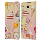 OFFICIAL emoji® PATTERNS LEATHER BOOK WALLET CASE COVER FOR WILEYFOX & ESSENTIAL