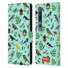 OFFICIAL emoji® BIRDS LEATHER BOOK WALLET CASE COVER FOR XIAOMI PHONES