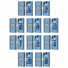 MAN CITY FC 2018/19 PLAYERS HOME KIT GROUP 1 LEATHER BOOK CASE FOR XIAOMI PHONES $19.95 USD on eBay