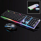 Keyboard Mouse Set Adapter For PS4& PS3 Xbox One And Xbox 360 Gaming Rainbow~LED