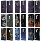 OFFICIAL ANNE STOKES DRAGONS 3 LEATHER BOOK WALLET CASE COVER FOR LG PHONES 2