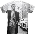 Authentic James Dean Photo New York City Street Walk Sublimation Front T-shirt