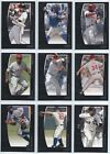 2009 Topps Unique Baseball Base Cards You Pick the Player Card Finish Your Set on Ebay