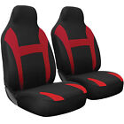 Seat Cover Complete Set for Car Truck SUV Van - Flat Poly Cloth Fabric- 2 Piece $16.99 USD on eBay