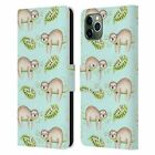 OFFICIAL KRISTINA KVILIS ANIMALS LEATHER BOOK CASE FOR APPLE iPHONE PHONES