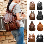 Women's Pu Leather Backpack Purse Ladies Casual Shoulder Bag School Bag for Girl