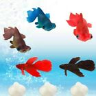 AQUARIUM Fish Tank Artificial Rumble Fish Landscape Floating Fish w/Suction Cup