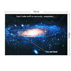 24x36inch Galaxy Universe Space Planet Wall Art Silk Poster Home Decor Sticker