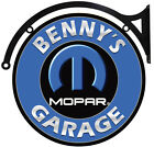 MOPAR GARAGE PERSONALIZED METAL SIGN $60.0 USD on eBay